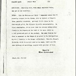 Image for K0516 - Alan Burroughs report, circa 1930s-1940s
