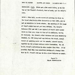 Image for K0522 - Alan Burroughs report, circa 1930s-1940s