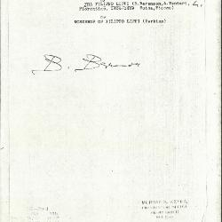 Image for K0516 - Expert opinion by Berenson, circa 1920s-1950s