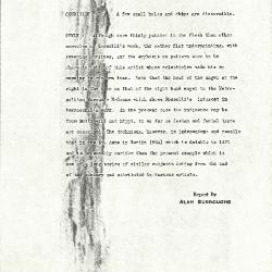Image for K0515 - Alan Burroughs report, circa 1930s-1940s