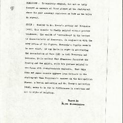 Image for K0530 - Alan Burroughs report, circa 1930s-1940s