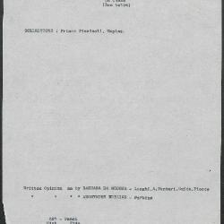 Image for K0527 - Art object record, circa 1930s-1950s