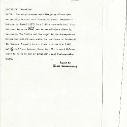 Image for K0532 - Alan Burroughs report, circa 1930s-1940s