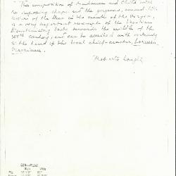 Image for K0526 - Expert opinion by Longhi, circa 1920s-1950s