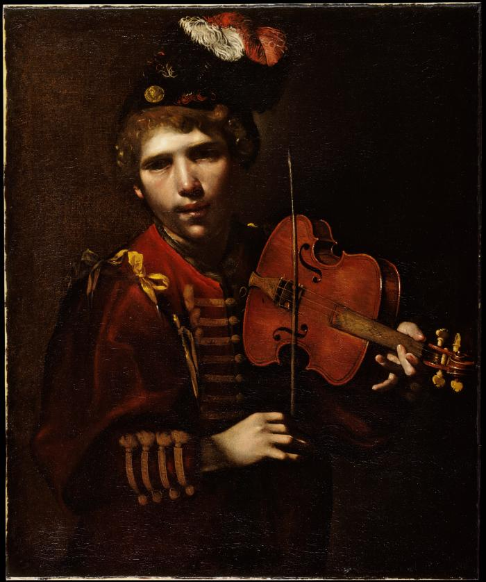 Image for Young Man Playing a Viola