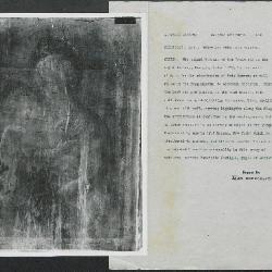 Image for K0536 - Alan Burroughs report, circa 1930s-1940s