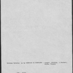 Image for K0535 - Art object record, circa 1930s-1950s