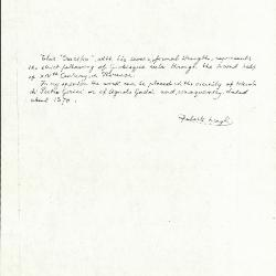 Image for K0537 - Expert opinion by Longhi, circa 1920s-1950s