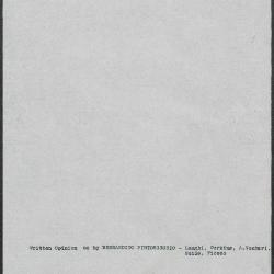 Image for K0542 - Art object record, circa 1930s-1950s