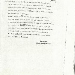 Image for K0537 - Alan Burroughs report, circa 1930s-1940s