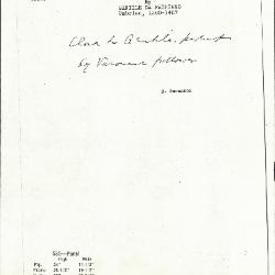 Image for K0535 - Expert opinion by Berenson, circa 1920s-1950s