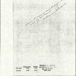 Image for K0056 - Expert opinion by Perkins, circa 1920s-1940s