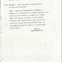 Image for K0572 - Alan Burroughs report, circa 1930s-1940s