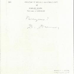 Image for K0055 - Expert opinion by Berenson, circa 1920s-1950s