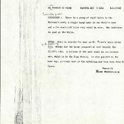 Image for K0560 - Alan Burroughs report, circa 1930s-1940s