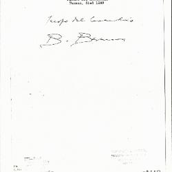 Image for K0572 - Expert opinion by Berenson, circa 1920s-1950s