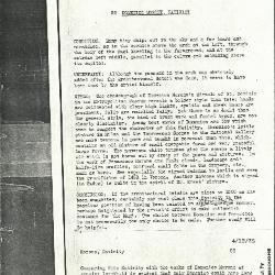 Image for K0055 - Alan Burroughs report, circa 1930s-1940s