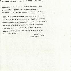Image for K0557 - Alan Burroughs report, circa 1930s-1940s