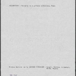 Image for K0568 - Art object record, circa 1930s-1950s