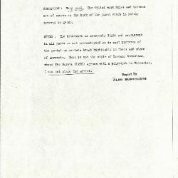 Image for K0568 - Alan Burroughs report, circa 1930s-1940s