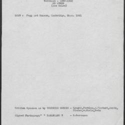 Image for K0055 - Art object record, circa 1930s-1950s