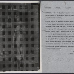 Image for K0559 - Alan Burroughs report, circa 1930s-1940s