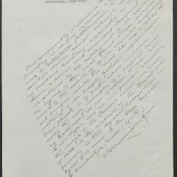Image for K0591 - Expert opinion by Perkins, circa 1920s-1940s