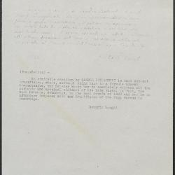 Image for K0591 - Expert opinion by Longhi, circa 1920s-1950s
