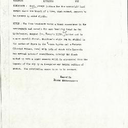 Image for K0593 - Alan Burroughs report, circa 1930s-1940s