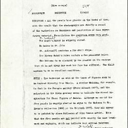 Image for K0592 - Alan Burroughs report, circa 1930s-1940s
