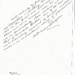 Image for K0572 - Expert opinion by Perkins, circa 1920s-1940s