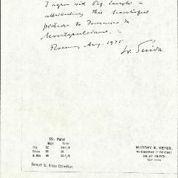 Image for K0059 - Expert opinion by Suida, 1935