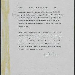 Image for K0584 - Alan Burroughs report, circa 1930s-1940s