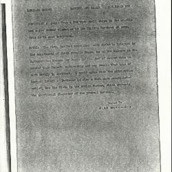 Image for K0578 - Alan Burroughs report, circa 1930s-1940s