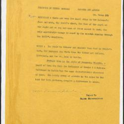 Image for K0579 - Alan Burroughs report, circa 1930s-1940s