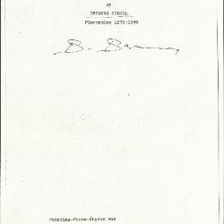 Image for K0064 - Expert opinion by Berenson, circa 1920s-1950s