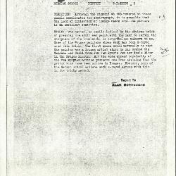 Image for K0006A - Alan Burroughs report, circa 1930s-1940s