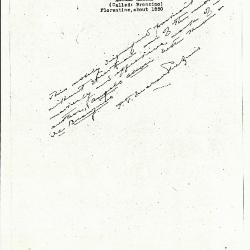 Image for K0061 - Expert opinion by Perkins, circa 1920s-1940s