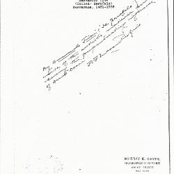 Image for K0060 - Expert opinion by Perkins, circa 1920s-1940s