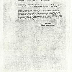 Image for K0060 - Alan Burroughs report, circa 1930s-1940s