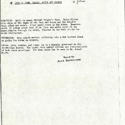 Image for K0069 - Alan Burroughs report, circa 1930s-1940s