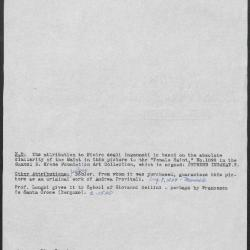 Image for K0080 - Art object record, circa 1930s-1950s