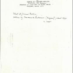 Image for K0080 - Expert opinion by Longhi, circa 1920s-1950s