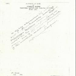 Image for K0087 - Expert opinion by Perkins, circa 1920s-1940s