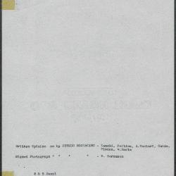 Image for K0008 - Art object record, circa 1930s-1950s