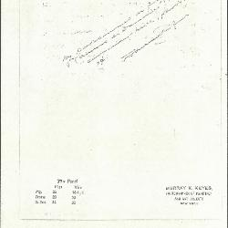 Image for K0077 - Expert opinion by Perkins, circa 1920s-1940s