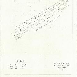 Image for K0079 - Expert opinion by Perkins, circa 1920s-1940s