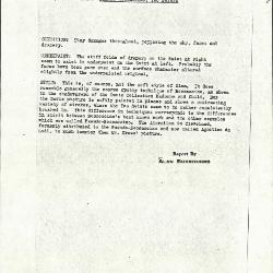 Image for K0008 - Alan Burroughs report, circa 1930s-1940s