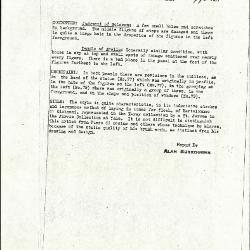 Image for K0077 - Alan Burroughs report, circa 1930s-1940s