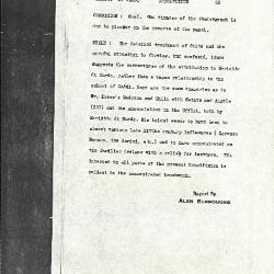 Image for K0093 - Alan Burroughs report, circa 1930s-1940s